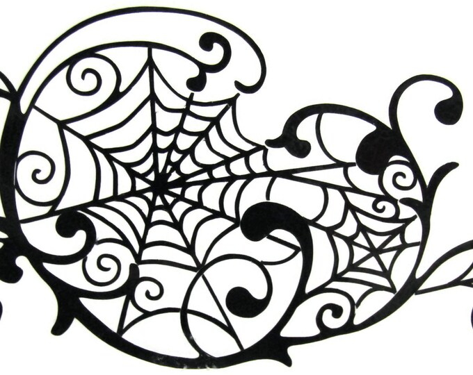 Web Vinyl Decal - Bling for your Machine