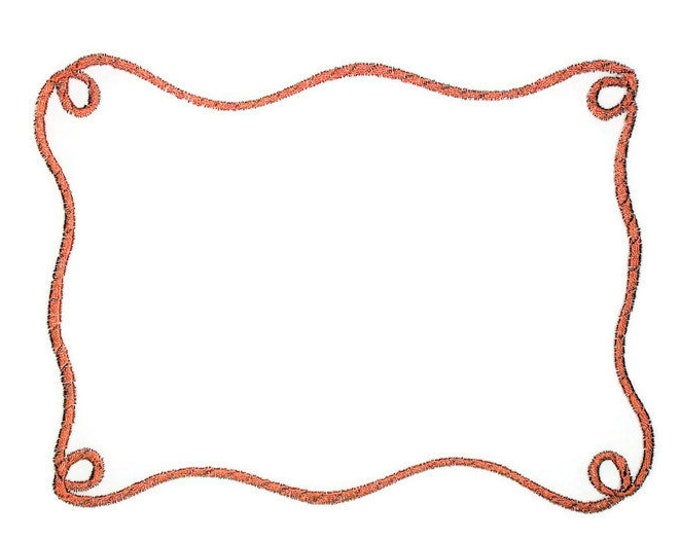 Lasso embroidered quilt label to customize with your personal message