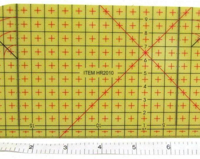 Heat resistant pressing hemming ruler tool