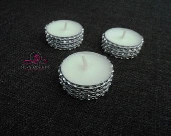 50 Sparkly Bling Tealights