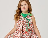 The Very Hungry Caterpillar™ Strawberry Leaf Dress by World of Eric Carle + Little Goodall