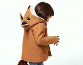 Kids Fox Coat