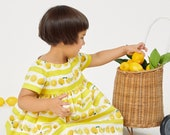 Lemon Yellow Caterpillar Dress: The Very Hungry Caterpillar™ Lemonade Dress by World of Eric Carle + Little Goodall