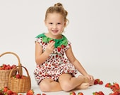 The Very Hungry Caterpillar™ Strawberry Leaf Romper: World of Eric Carle + Little Goodall