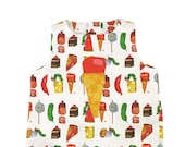 Very Hungry Caterpillar™ Ice Cream Scoop Romper: World of Eric Carle™+ Little Goodall