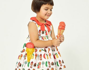 The Very Hungry Caterpillar™ Two Scoops Dress by World of Eric Carle + Little Goodall