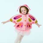 Reserved Listing for Allie Connors Johnston: Two Girls Pink Butterfly Capes