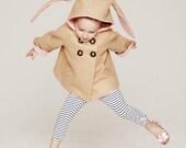 Honey Bunny Coat in Pink