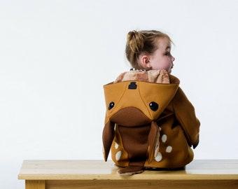 Baby Fawn Merino Wool Coat