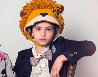 Ferocious Felt Lion Hat