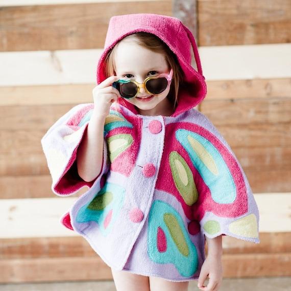 Des Mädchens Schmetterling Cape Nähen Muster //Wild Dinge Buch | Etsy