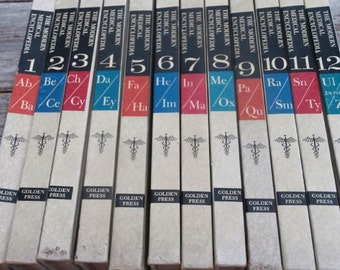 1965 Modern Health Encyclopedia 12 Volume Set