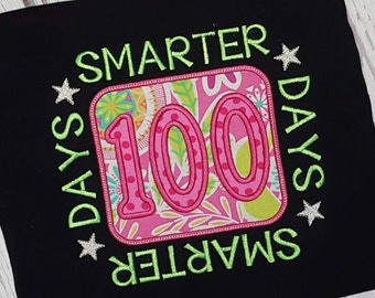 100 Days of School Shirt 100 Days Smarter Shirt Ships TODAY