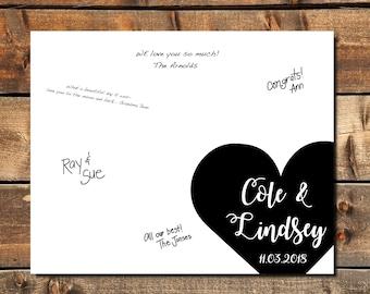 Wedding Guest Books | Etsy IL