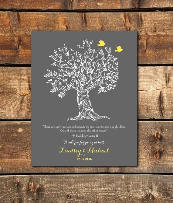 Hochzeits Geschenke Fur Mama Danke Geschenk Eltern Hochzeit Etsy