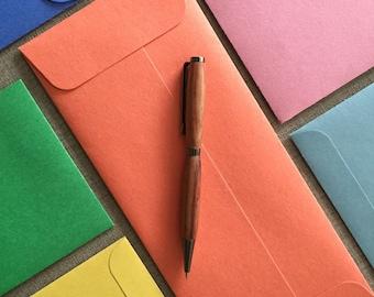 "25 Fun Envelopes!  Letter Size - 9 1/2"" x 4 1/8"" (24.13 cm x 10.4775 cm) Choose your Color - 100% Recycled"