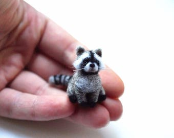 Miniature raccoon