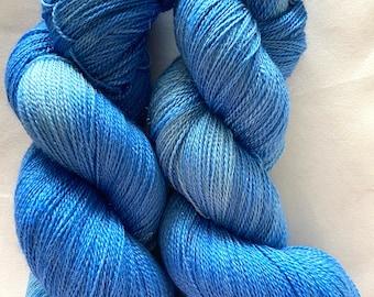 Merino Sparkle Yarn Hand Dyed (WSPL640)