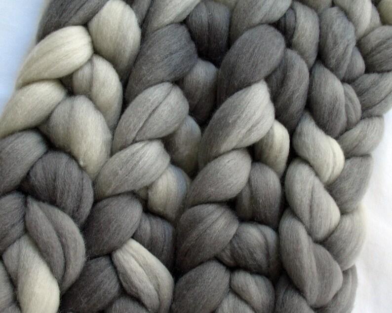 APS638 Polwarth Silk Roving Hand Dyed