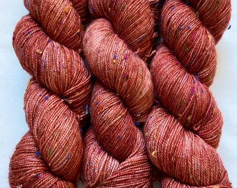 SW Merino and Donegal Neps Hand Dyed Yarn (WNDF236)