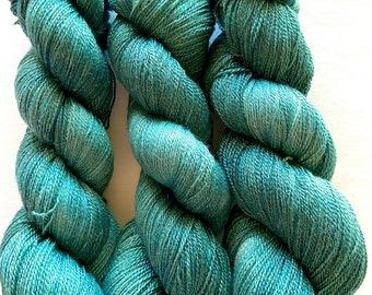 Merino Sparkle Yarn Hand Dyed (WSPL630)