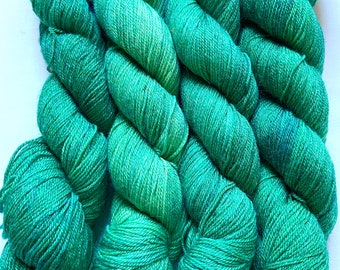 Merino Bamboo Yarn Hand Dyed (HZO629)