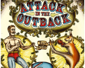 Attack in the Outback