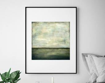 "Abstract Art Print, Mixed Media print, Contemporary Art print, Abstract Art, Industrial Art, Gray print, 8""x8"" or 12""x12"", ""Solitary"""