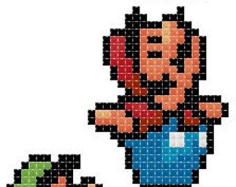 Super Mario #2 - PDF Cross-stitch pattern - Instant Download!