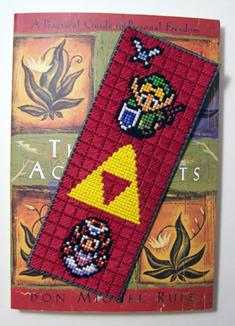 Legend of Zelda   PDF Cross-stitch pattern  Instant image 0