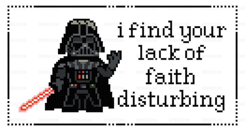 Darth Vader  I find your lack of faith disturbing  PDF image 0
