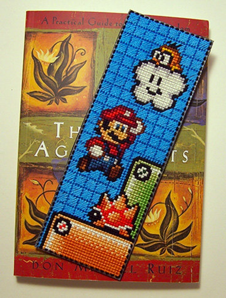 Super Mario  PDF Cross-stitch pattern  Instant Download image 0