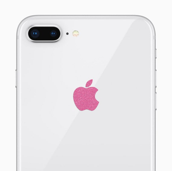 the latest a5445 73716 Apple iPhone 8 Plus Sparkling Pink Logo Decal