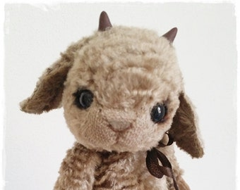 """PDF File for Sewing Pattern Sheep """"Wolke"""" 6,5Inch"""