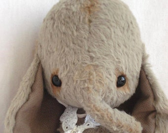 """PDF file for Sewing Pattern for 5 inch Elephant """"Lisa"""""""