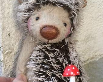 PDF For Sewing Pattern for 6,5 inch Hedgehog