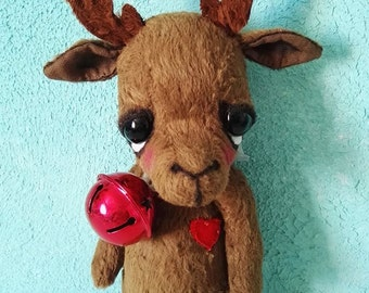 PDF Sewing Pattern For 8 inch Reindeer