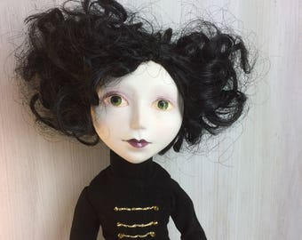 One of a kind hand made Art Doll.
