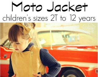 Moto Jacket PDF Pattern