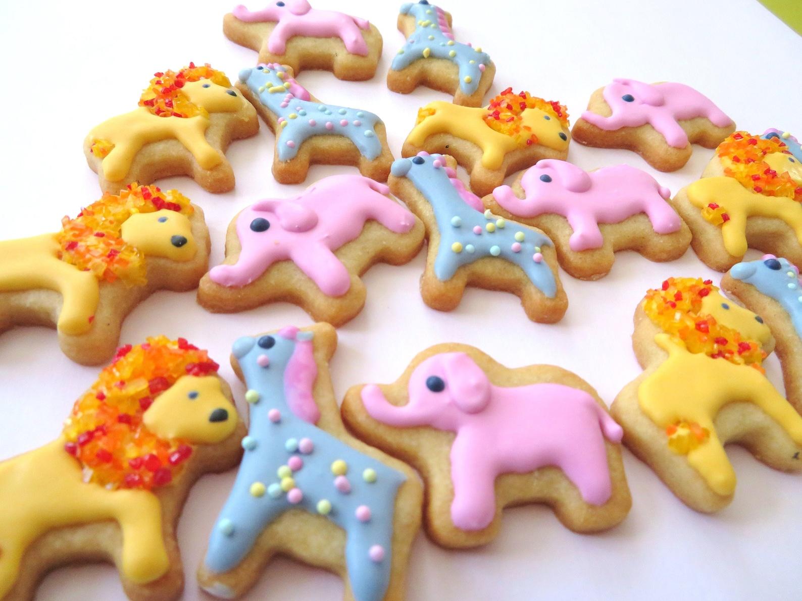 Animal Sugar Cookies