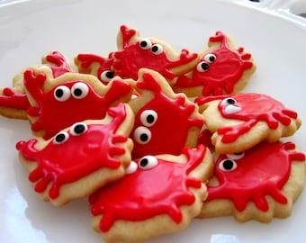 Crabby cookies  2 dozen no words