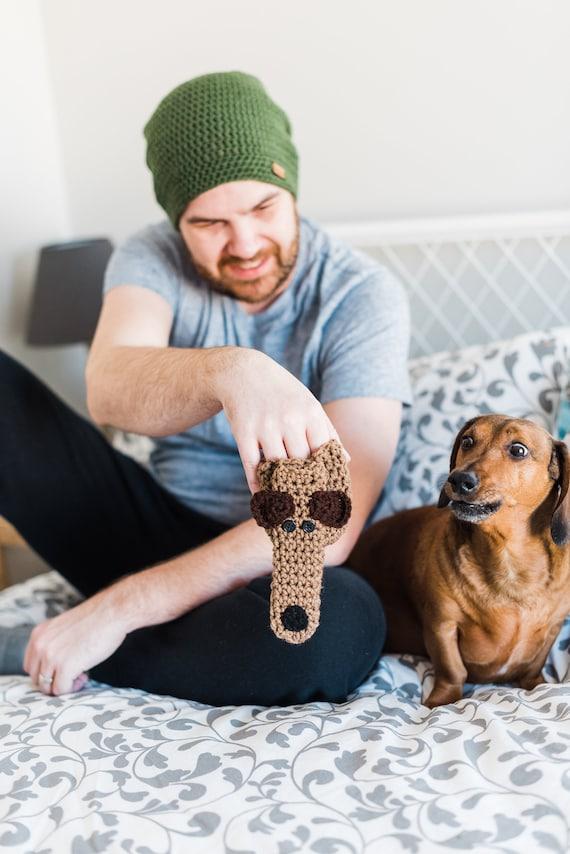 Willy Warmer Weiner Weener Knitted Sock funny adult prank gag joke gift