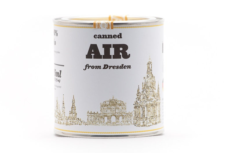 Original Canned Air From Dresden Germany gag souvenir gift image 0