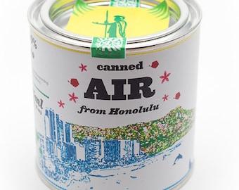 Original Canned Air From Honolulu, Hawaii, USA, gag souvenir, gift, memorabilia