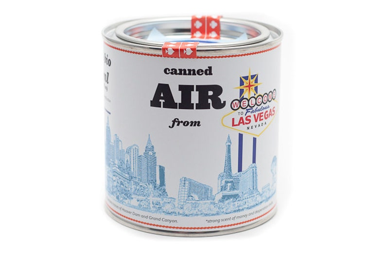 Original Canned Air From Las Vegas Nevada USA gag gift image 0