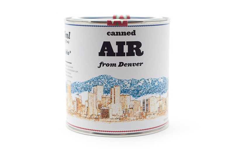 Original Canned Air From Denver Colorado USA gag gift image 0