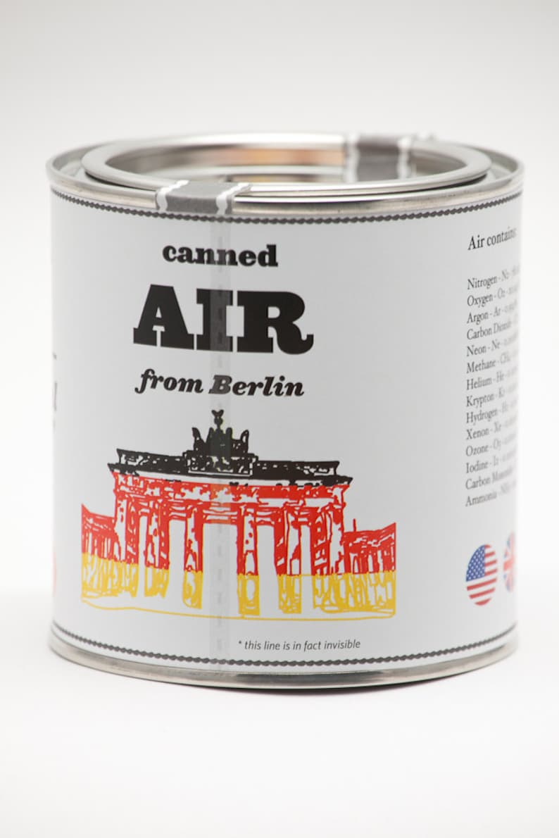 Original Canned Air From Berlin gag souvenir gift image 0