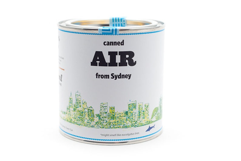 Original Canned Air From Sydney Australia gag souvenir image 0