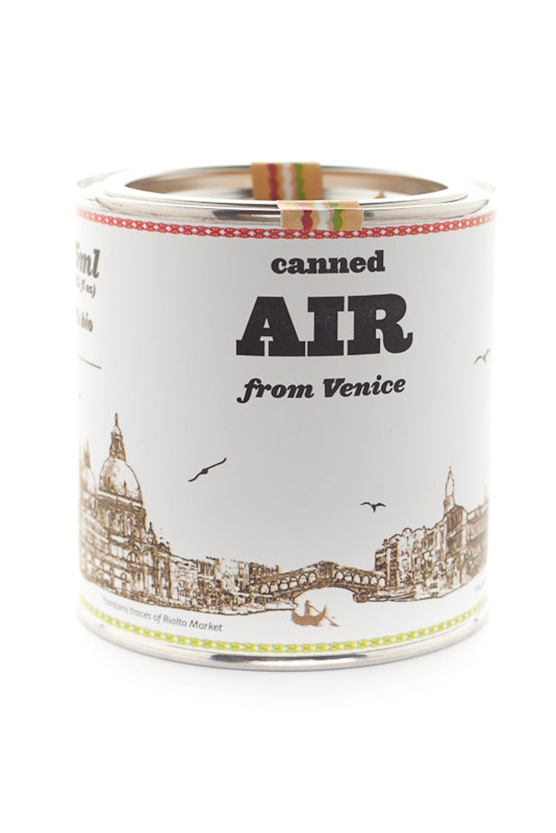 Original Canned Air From Venice gag souvenir gift image 0