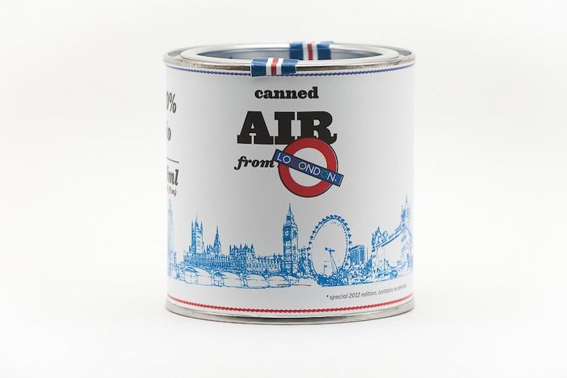 Original Canned Air From London gag souvenir memorabilia image 0